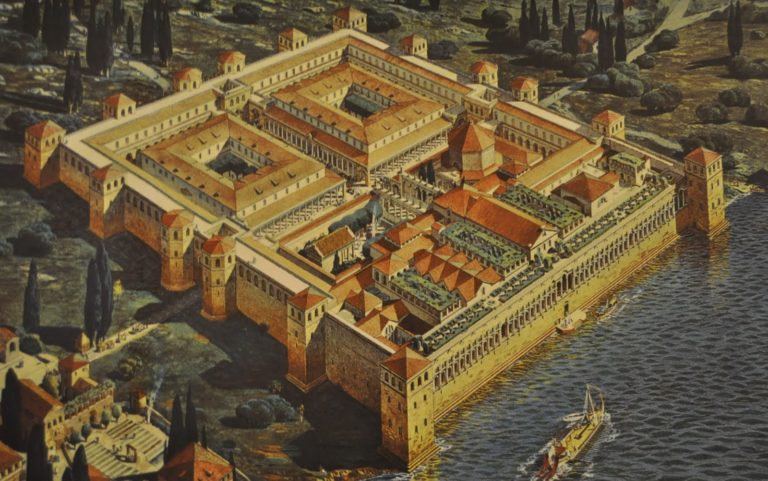 Diocletians palace before