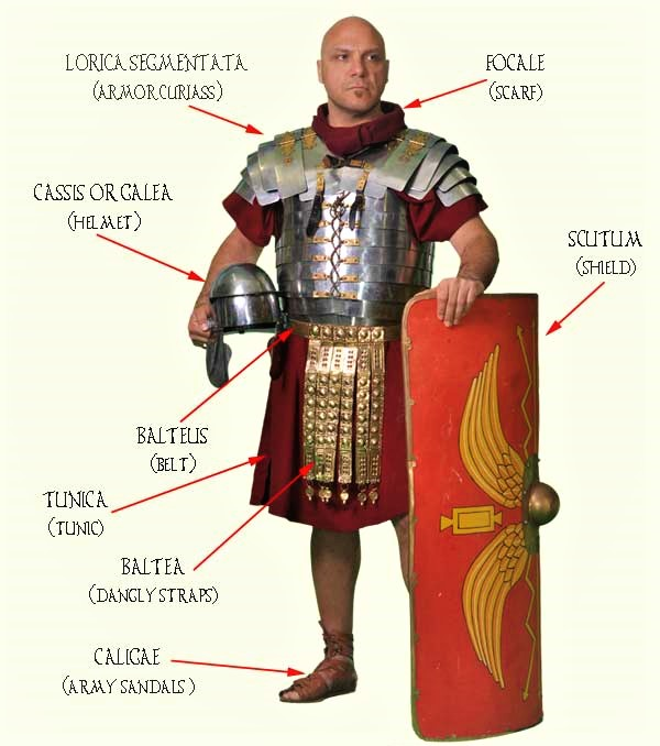 Roman soldier weapons