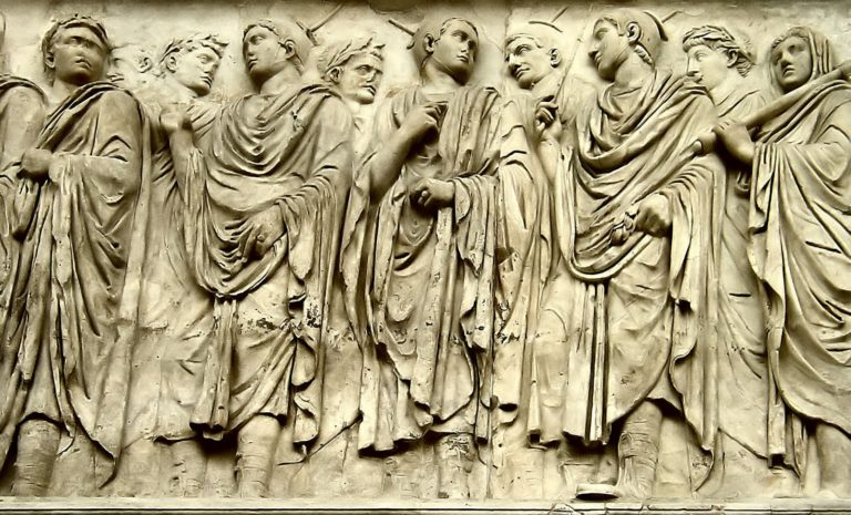 relief of romans